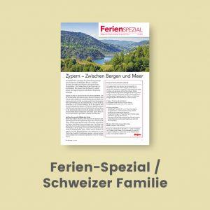 Ferien-Spezial Schweizer Familie