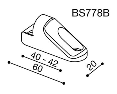 Rizoma Spiegeladapter für Suzuki GSX FA 1250 Bandi