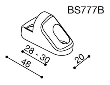 Rizoma Spiegeladapter für Triumph Daytona 675 (09-12)