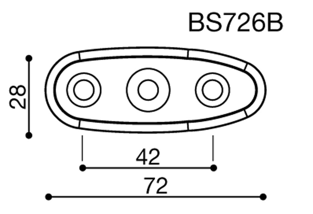 Rizoma Spiegeladapter für Suzuki GSX R 600 (01-05)