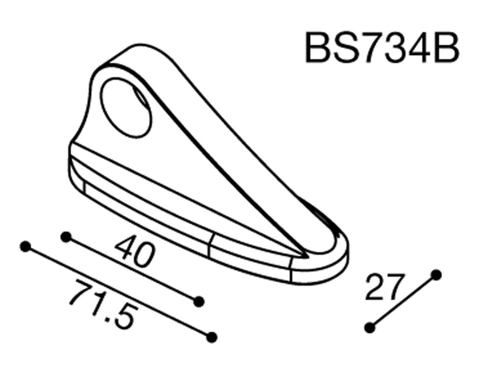 Rizoma Spiegeladapter für Yamaha FZ1 Fazer (2006-)