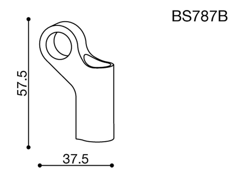 Rizoma Spiegeladapter für Kawasaki ER-6N (2012-)