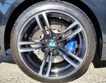 BMW M4 Felge mit Ceramic-Versiegelung
