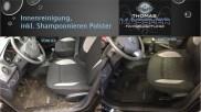 Innenreinigung, inkl. Shampoonieren Polster vorher nachher - Fahrzeugpflege Massler