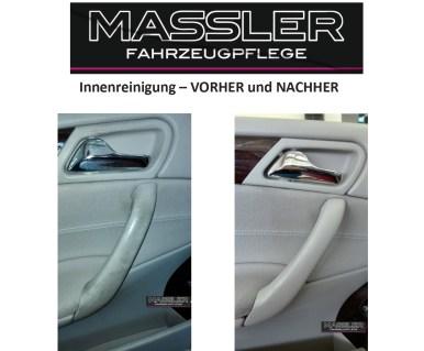 VORHER und NACHHER - Fahrertür - aufbereitet von TM-Fahrzeugpflege