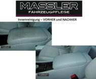 VORHER und NACHHER - Mittelarmlehne - aufbereitet von TM-Fahrzeugpflege