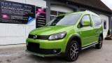 VW Caddy mit Servfaces Suave versiegelt von Fahrzeugpflege Massler