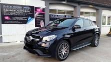 Mercedes Benz GLE 63AMG S mit servFaces Ultima und servFaces Suave versiegelt von Fahrzeupflege Massler