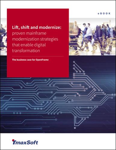 Lift Shift and Modernize Mainframe Modernization