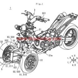 Yamaha T Max a tre ruote 1
