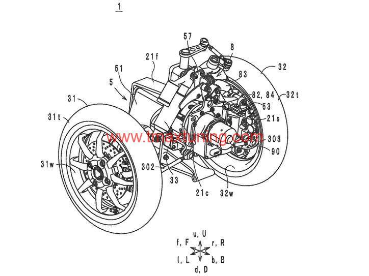 Yamaha T Max a tre ruote 5