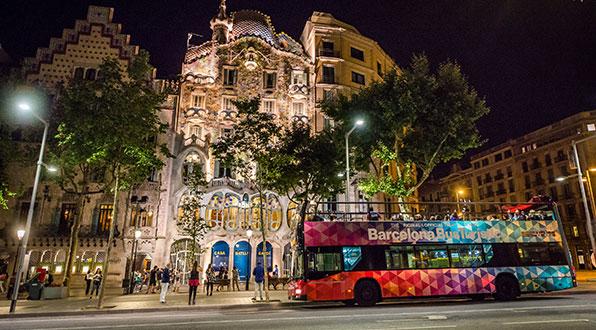 Barcelona Night Tour Bus  Rutas nocturnas  Transports Metropolitans de Barcelona