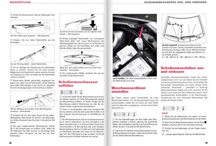 Ford Fiesta V (2002-2008) : revues techniques RTA