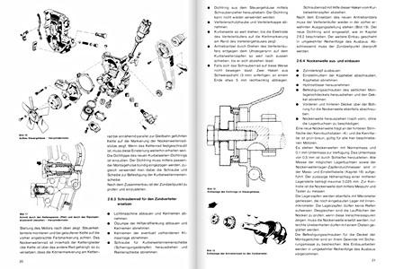 Opel Senator, Monza (1978-1993) : revues techniques