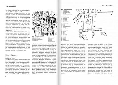 Fiat 600, 600 D, 600 Multipla: werkplaatsboeken