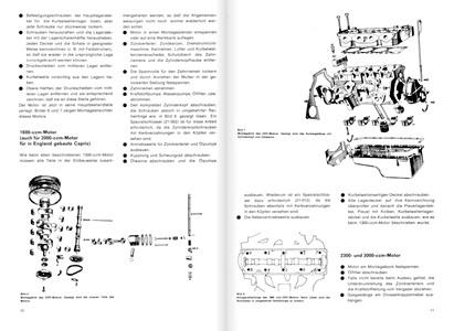 Ford Capri II und III Reparaturanleitungen und