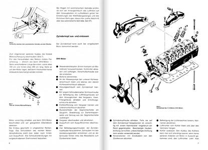 Opel Ascona B (1975-1981): Reparaturanleitungen und