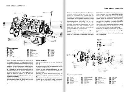 Ford Eight, V-8 und Anglia: Reparaturanleitungen und