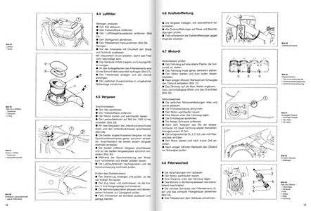 Yamaha FZR 1000 Genesis, Exup : revues techniques