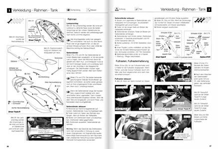 Triumph 675 Daytona et Street Triple : revues techniques
