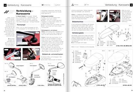 Piaggio Vespa GTS, GTV, LS : revues techniques RMT