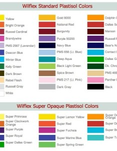 Wilflex color chart you never get  second chance to make good first impression also bimo unpasoadelante rh