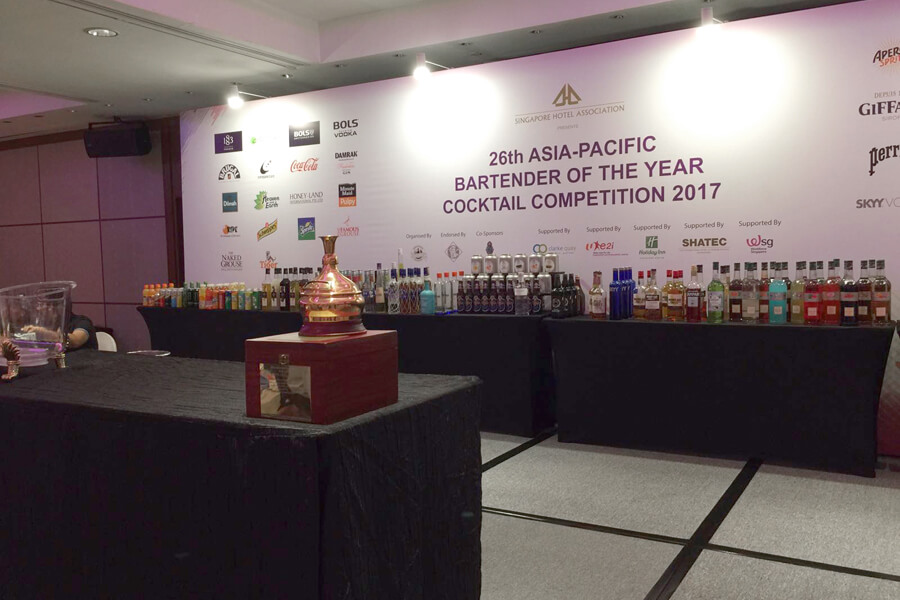 26th Asia Pacific Bartender Of The Year Cocktail Competition 2017