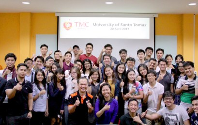 TMC Academy welcomes students from University of Santo Tomas