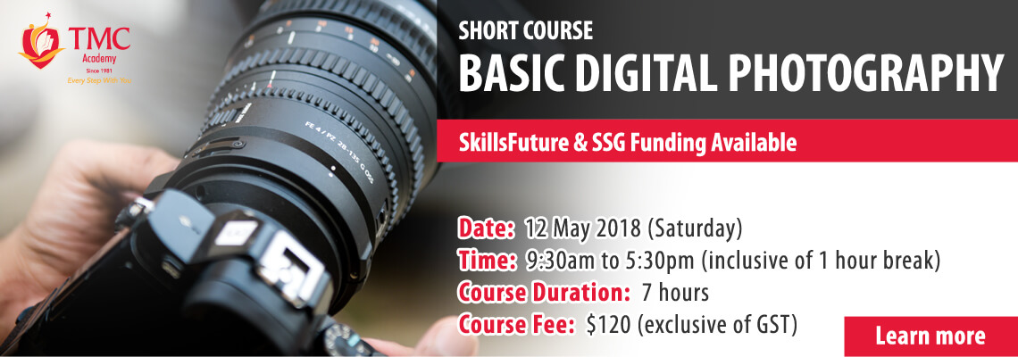 Basic Digital Photography Short Course Shout Out Banner