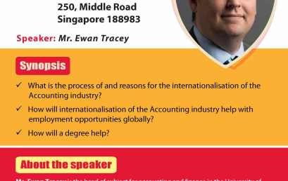 The Internationalisation of the Accounting Industry by Mr. Ewan Tracey