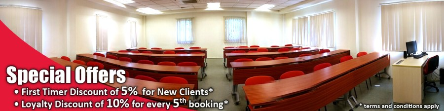 TMC Academy Room Rental Special Offers Banner