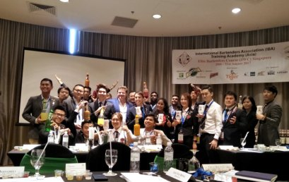 Hospitality & Tourism Student Attends Elite Bartenders Course