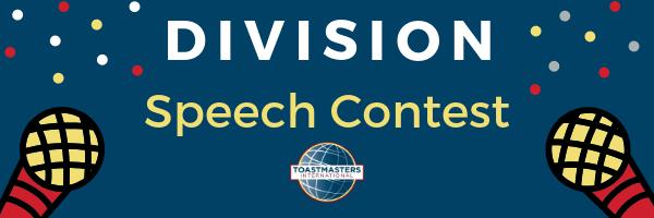 Division C Table Topics Humorous Speech Contest District 29