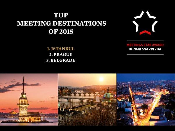 Istanbul won the Meetings Star Award once again ©Istanbul CVB