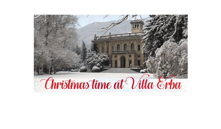The Spirit of Christmas @Villa Erba
