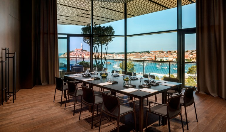 Grand Hotel Rovinj meeting room courtesy @CroatiaTB