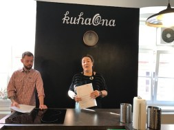 Kuhaona - Strukli making