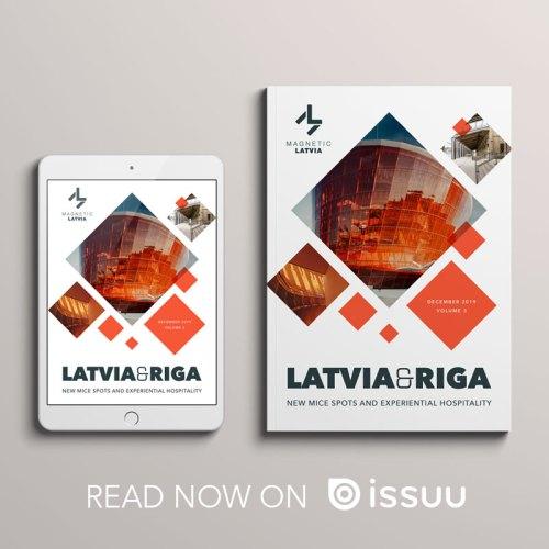 Latvia Magazine 2019 Banner