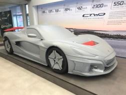 Rimac Factory CTWO car in showroom