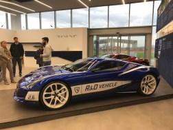 Rimac Factory R&D Car Show room