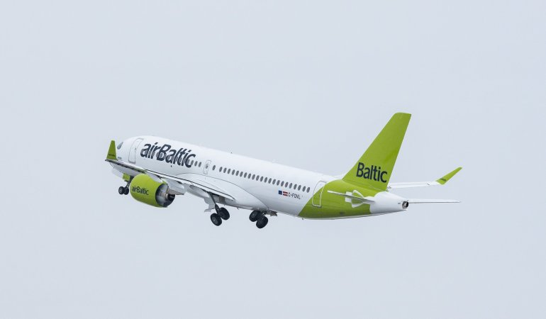 courtesy @Air Baltic