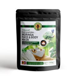 Moringa Face and Body Mask w-Kaolin White Superfine Clay (100g)