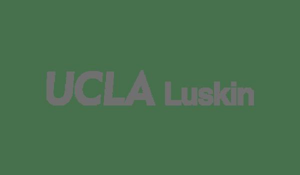 UCLA Luskin logo