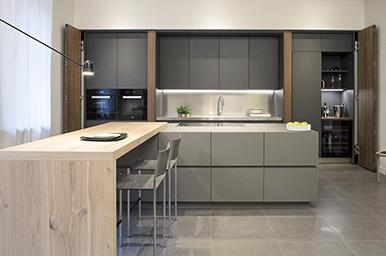 Cucine a scomparsa  Progettazione Cucine Design by TM Italia