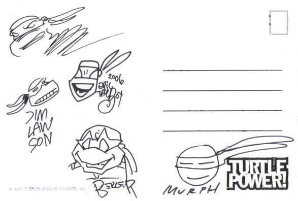 Teenage Mutant Ninja Turtles Artists