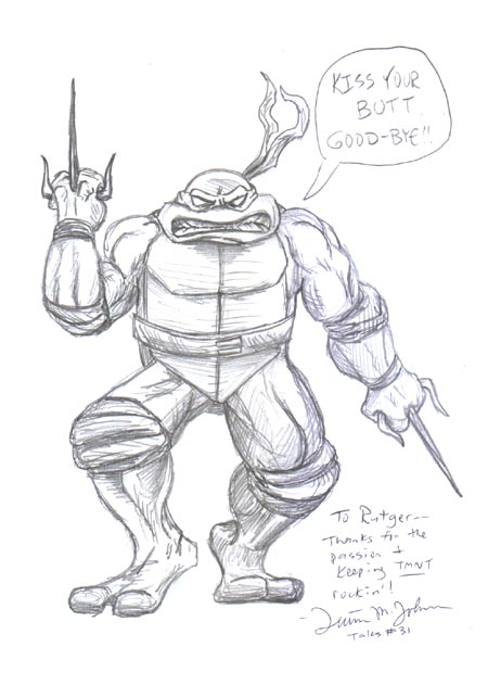 Teenage Mutant Ninja Turtles Artists
