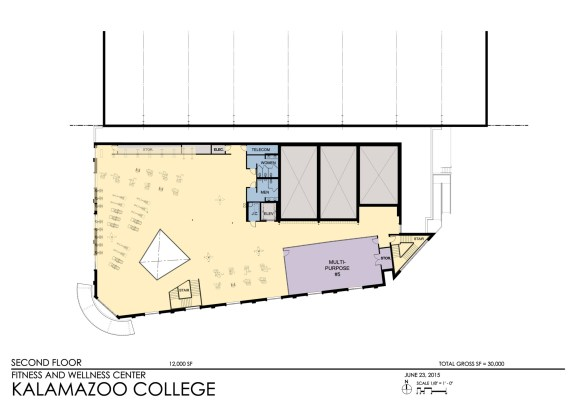 Kalamazoo College - Floor Plan 2