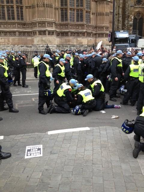 anti-fascist arrests