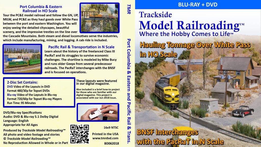 Model railroad Washington State Port Columbia and Eastern freelanced HO scale