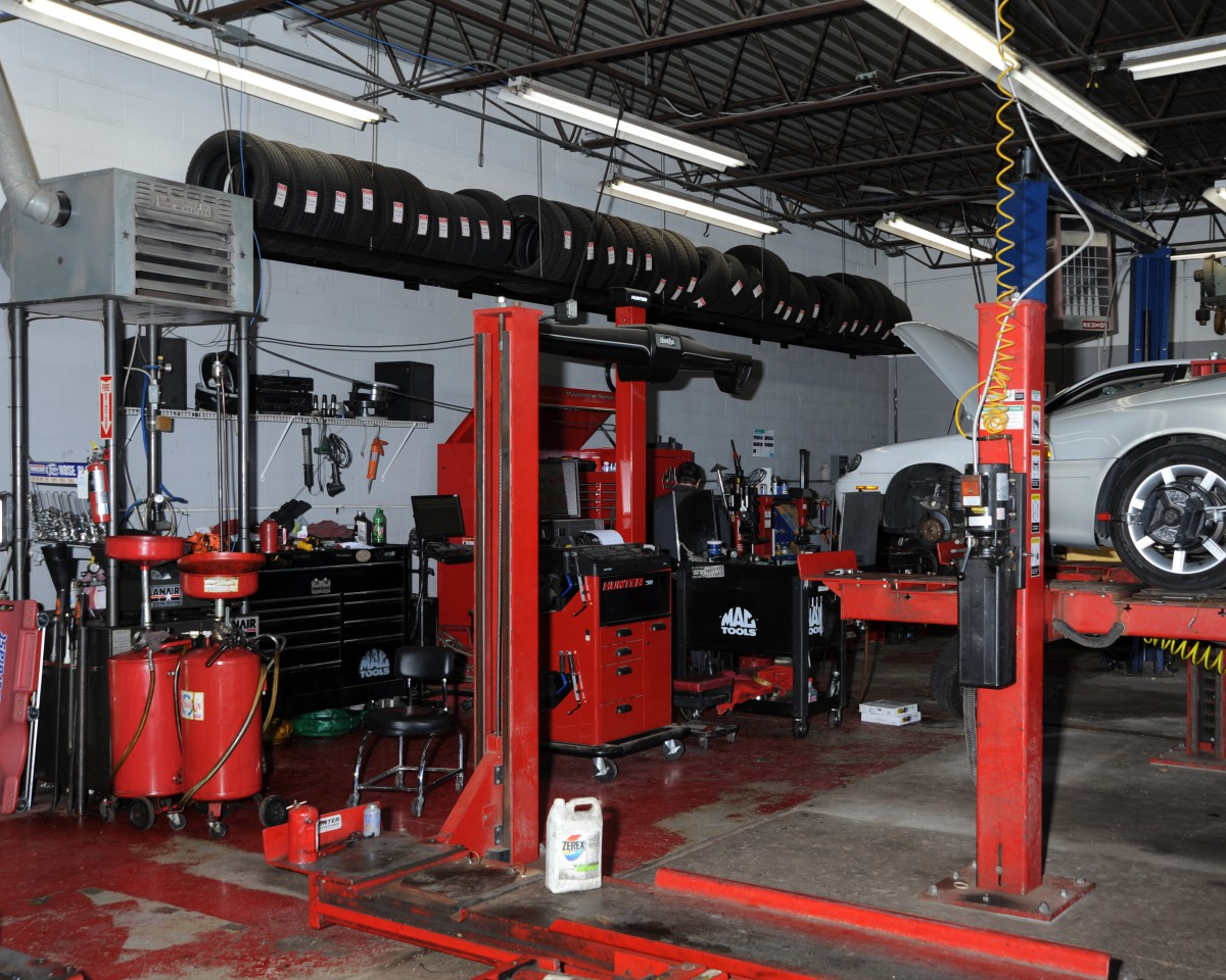 See Our Shop Photos  The Maintenance Shop
